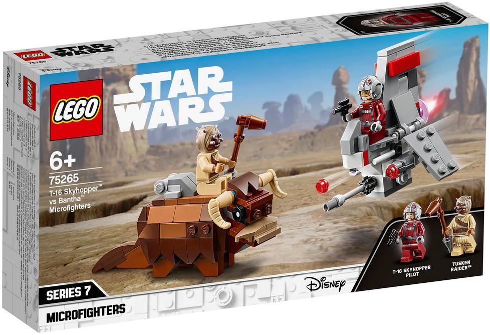 75265 Lego Star Wars Микрофайтеры: Скайхоппер T-16 против Банты, Лего Звездные войны