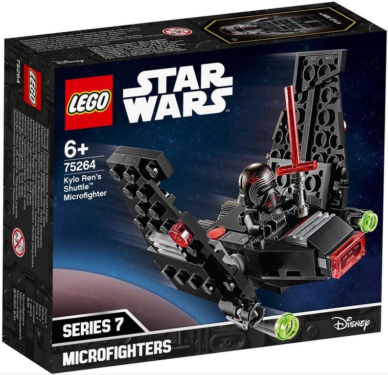 75264 Lego Star Wars Микрофайтеры: шаттл Кайло Рена, Лего Звездные войны