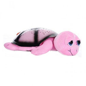 Ночник проектор звездного неба Черепаха (розовая), фото 2