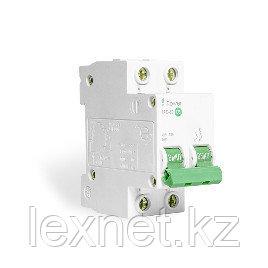 Автоматический выключатель реечный iPower ВА47-63 2Р 32А, фото 2