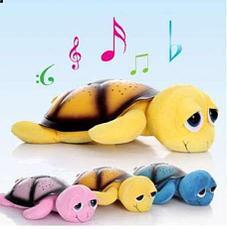 Ночник - проектор Черепаха (розовая), фото 3