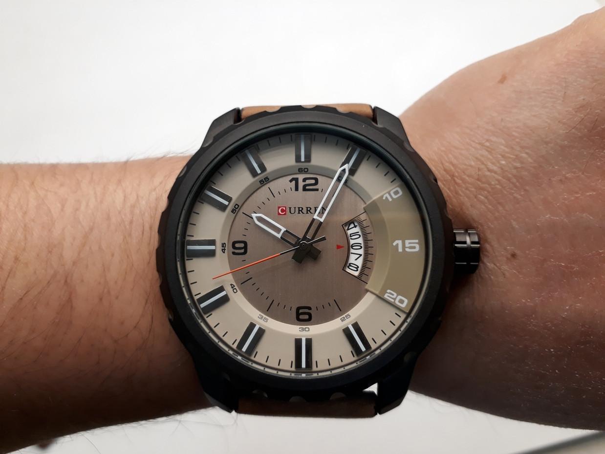 Мужские часы Curren. Модель 8245. Кварцевые. Наручные