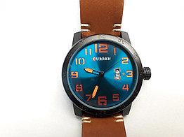 Наручные мужские часы Curren. Модель 8254. Кварцевые. kaspi RED. Рассрочка.