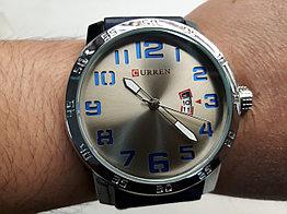 Кварцевые мужские наручные часы Curren. Модель 8254. Рассрочка. Kaspi RED.