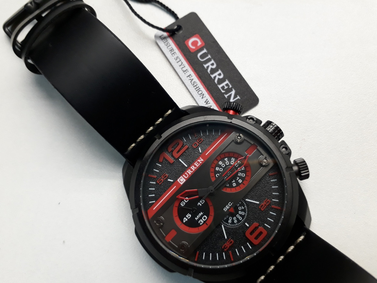 Мужские часы Curren. Модель 8259. Кварцевые. Наручные.