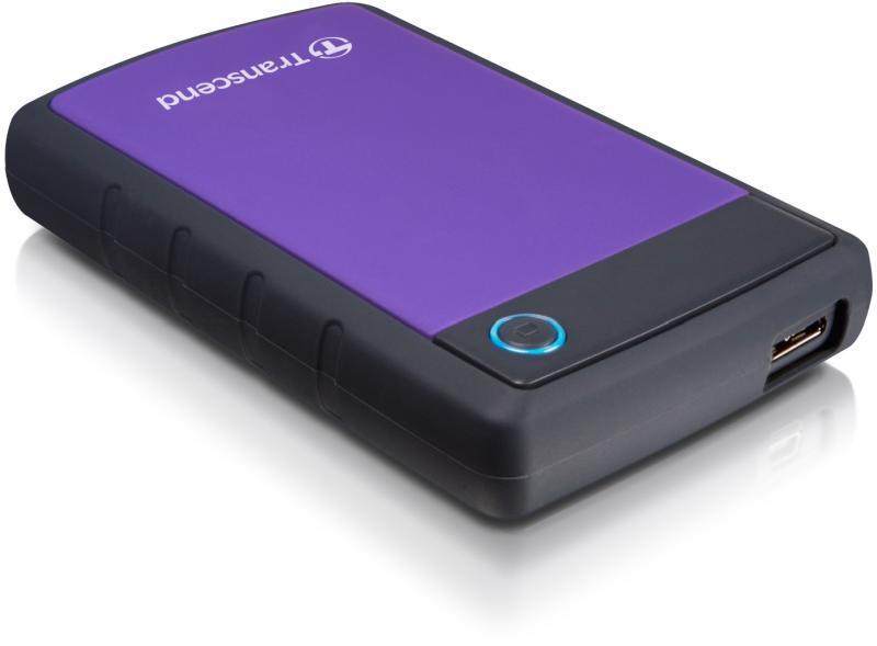 """Transcend TS4TSJ25H3P Внешний жесткий диск StoreJet 25H3P 4Tb 2,5"""" USB 3.0"""