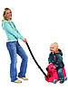 Детский чемодан-каталка на колесиках Собачка Big красный Германия