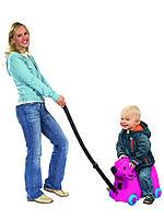 Детский чемодан на колесиках Big розовый Германия