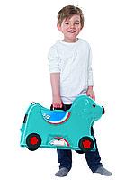 Детский чемодан на колесиках Big синий Германия