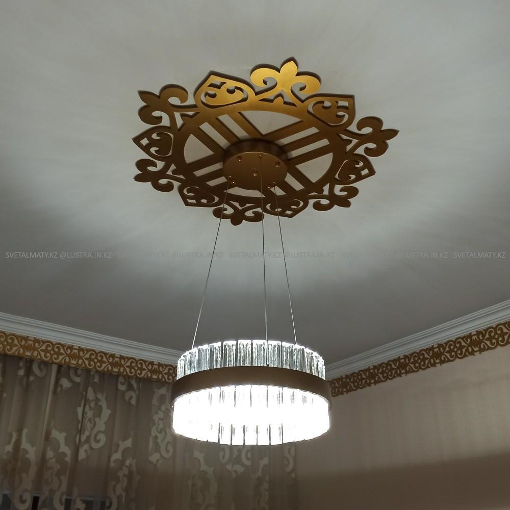 Люстра подвесная 1-ламповая в стиле Арт-деко