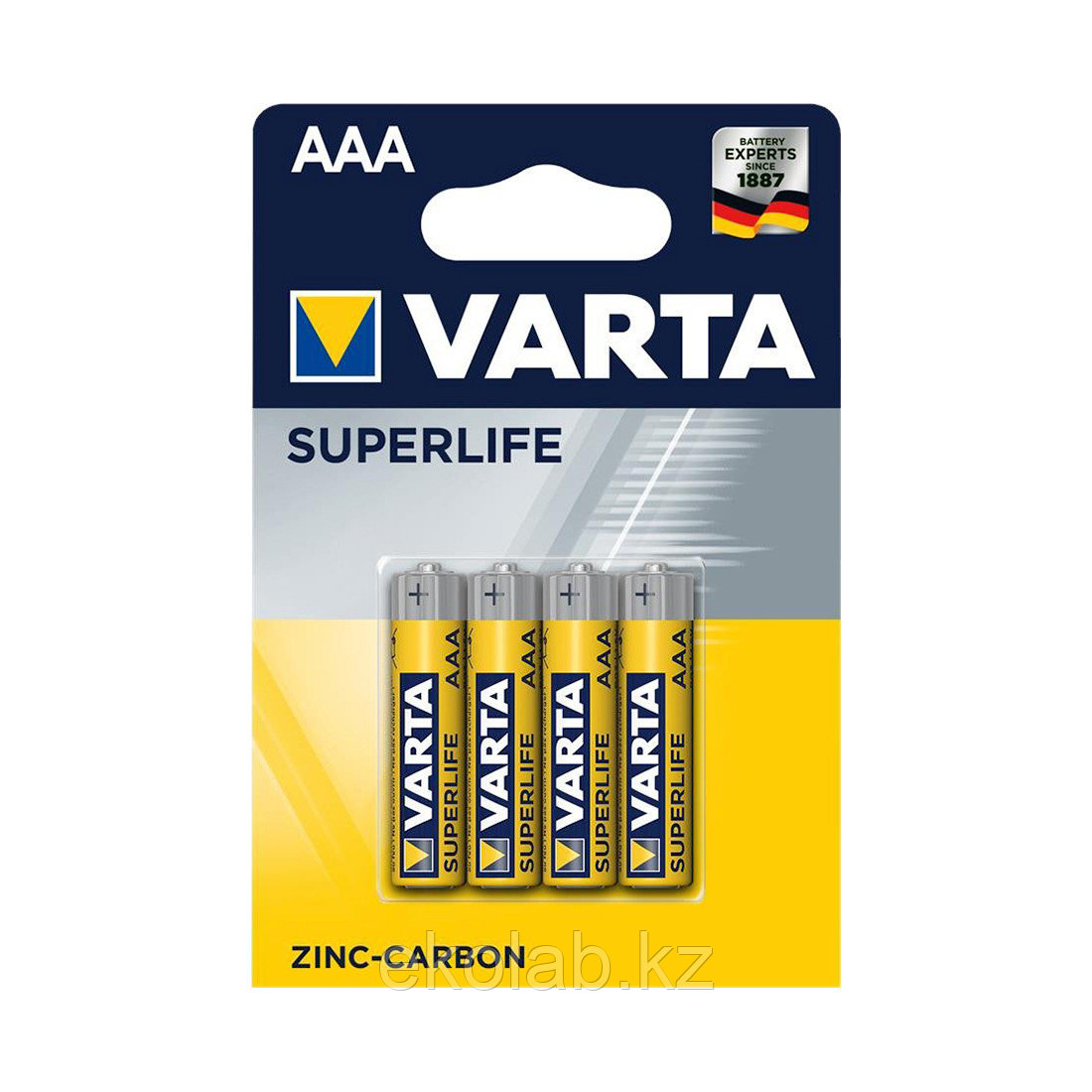Батарейка VARTA Superlife Micro 1.5V - R03P/AAA (4 шт)