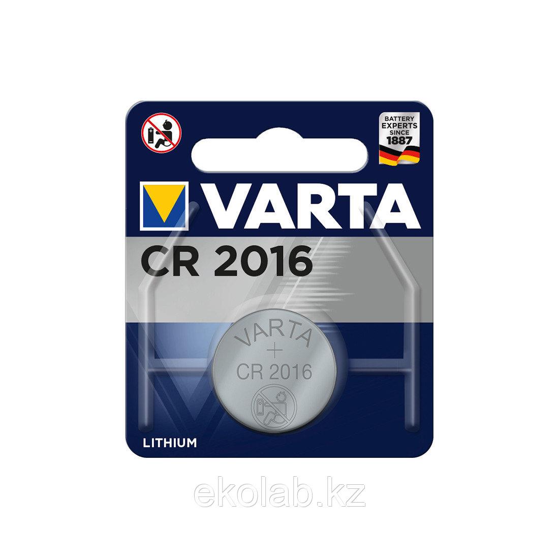 Батарейка VARTA Lithium CR2016 3V