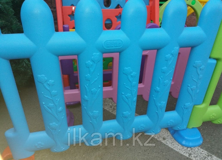 Забор ограждение, детский пластиковый для детских зон
