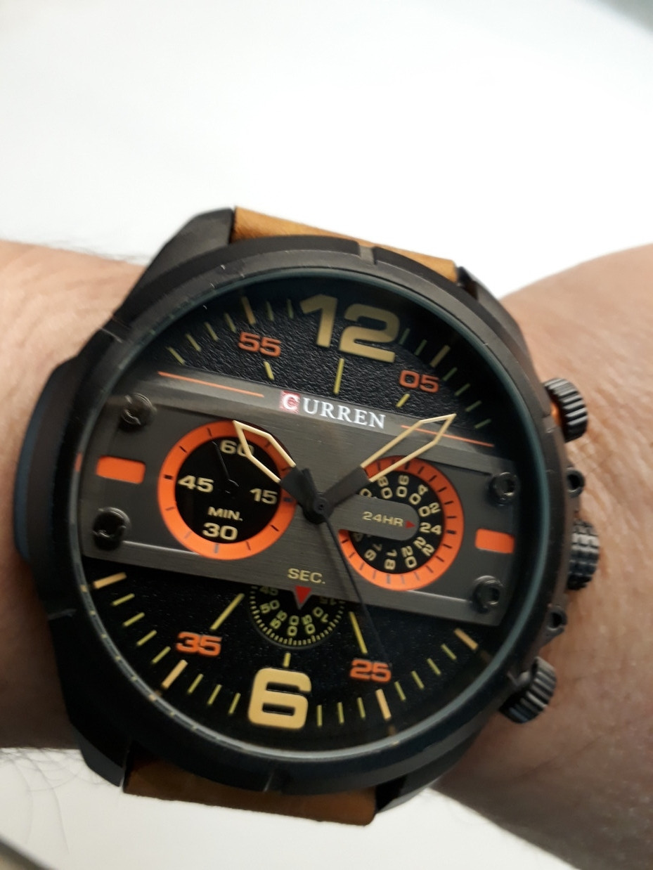 Мужские часы Curren. Модель 8259. Наручные. Кварцевые.