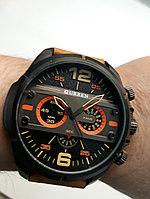 Мужские часы Curren. Модель 8259. Наручные. Кварцевые. Kaspi RED. Рассрочка.
