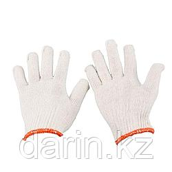 Перчатки строительные белые