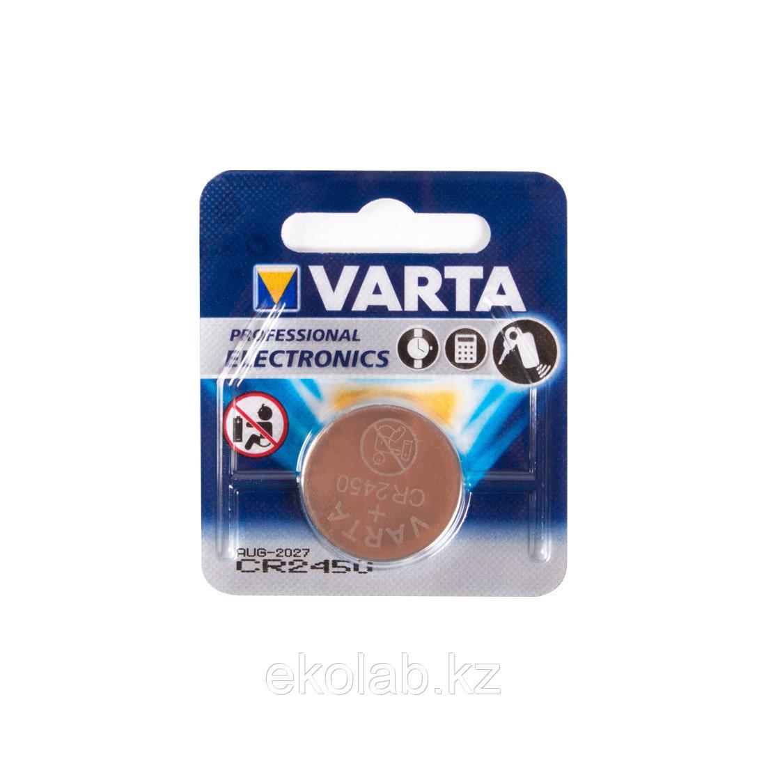 Батарейка VARTA Professional Electronics CR2450 3V