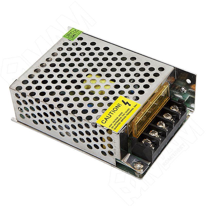 Блок питания 60W(5A) для светодиодной ленты DC12V, IP20
