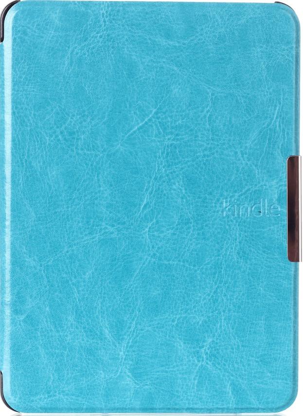 Чехол для Kindle Voyage (кожаный, бирюзовый)