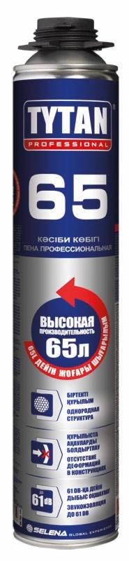 Монтажная пена Tytan профессиональная 65 O2 750 ml оптом