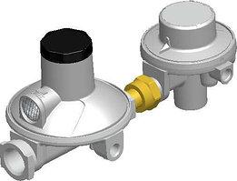 Регулятор давления газа двухступенчатый (Италия), ТИП 524, (10 кг/ч)