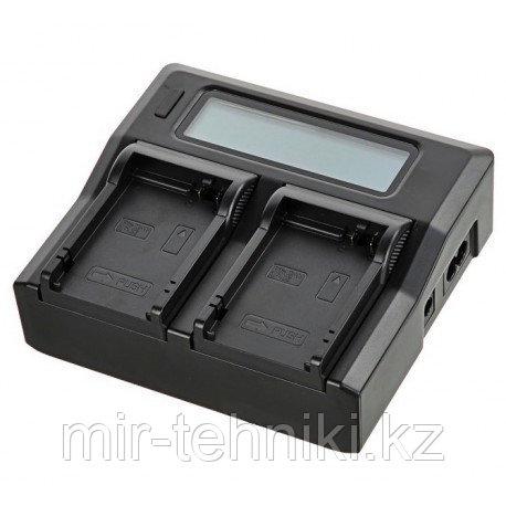 Двойное зарядное устройство для Canon LP-E6 (Двойная зарядка)