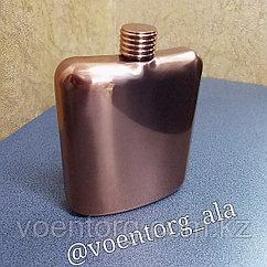 Фляжка металлическая (бронза)