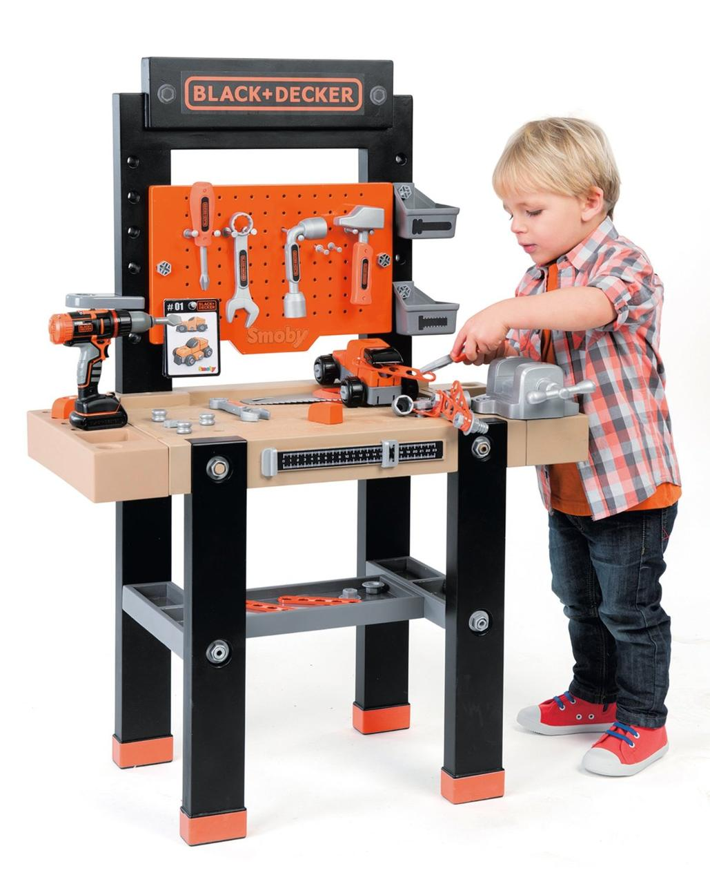 Детская мастерская с инструментами Black&Decker  92 акс