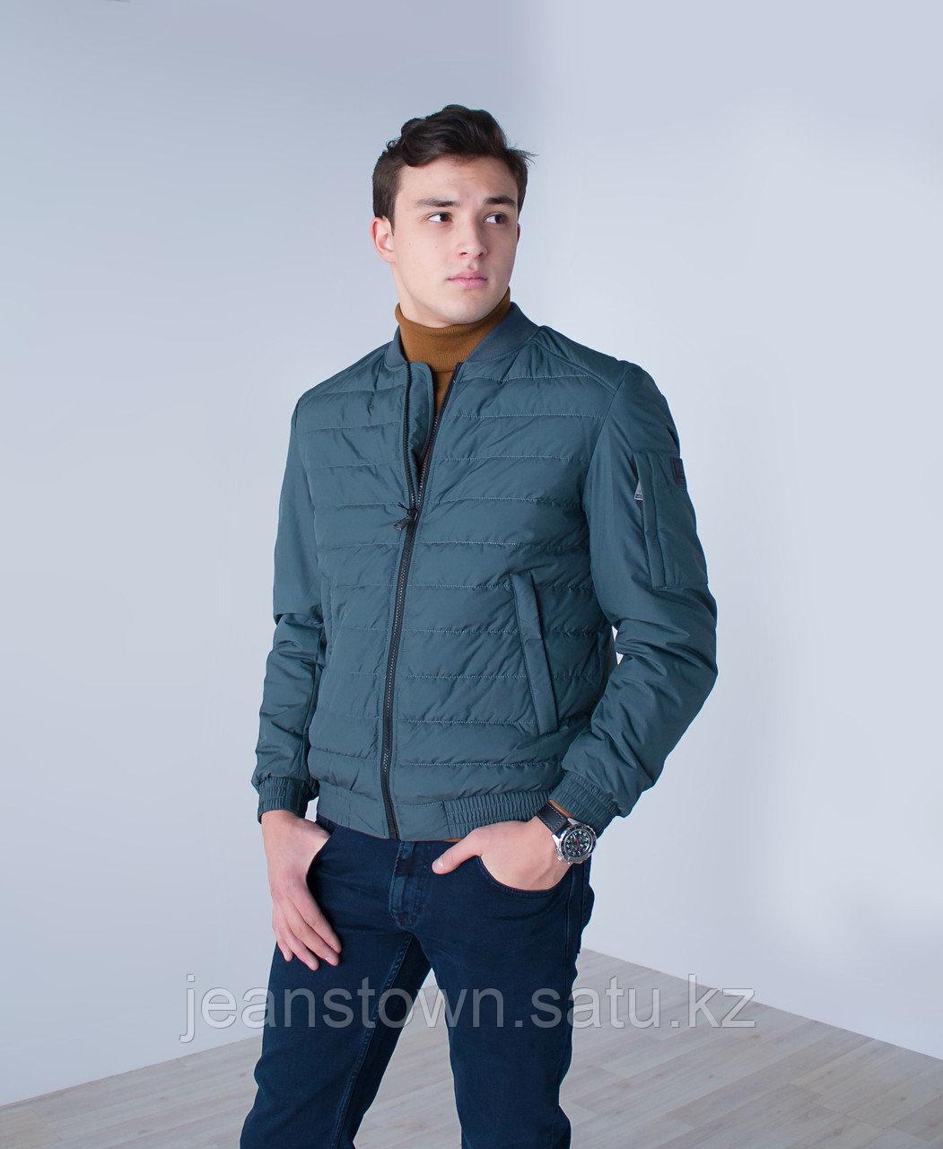Куртка мужская  демисезонная Vivacana короткая серая