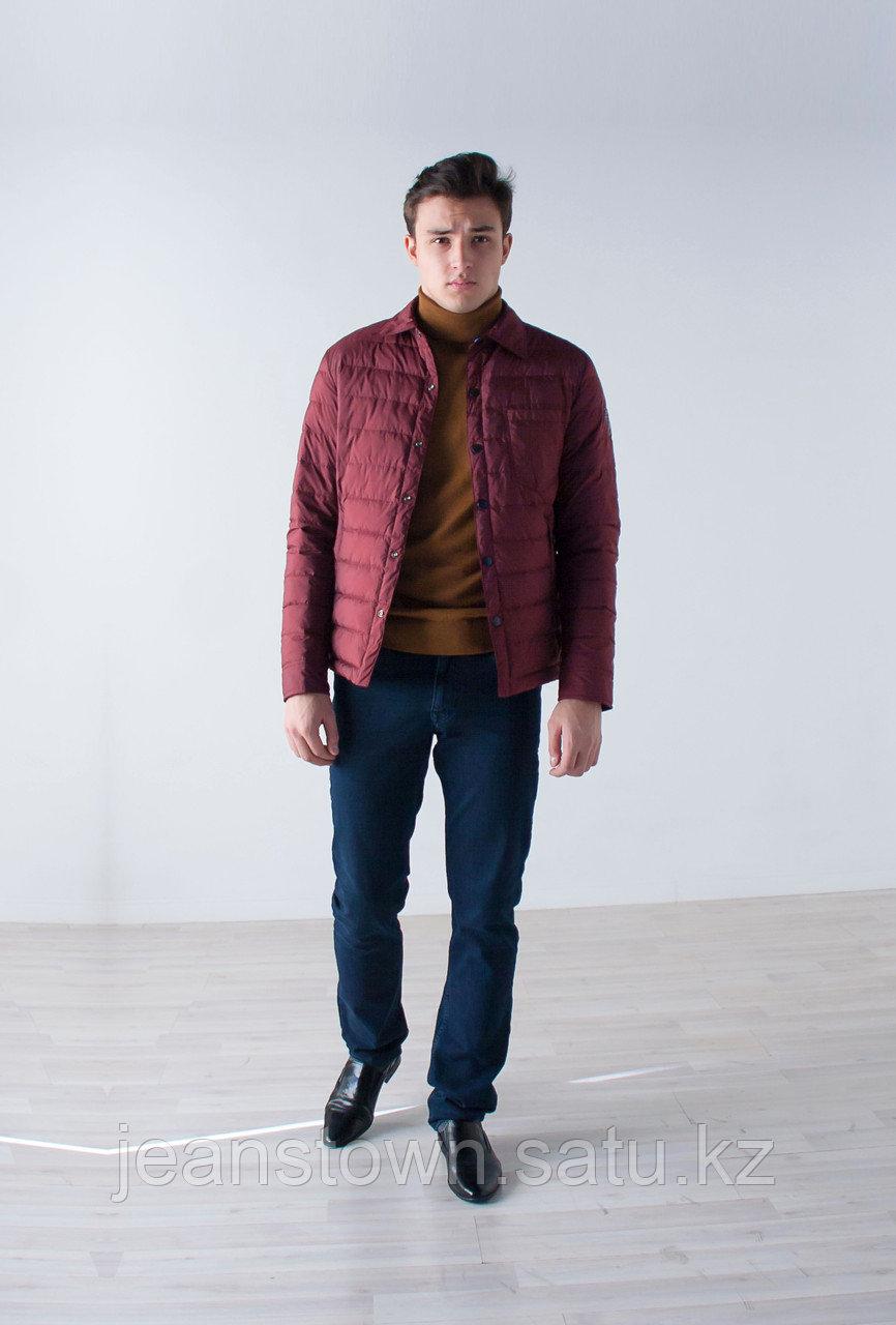 Куртка мужская демисезонная Vivacana бордовая - фото 2