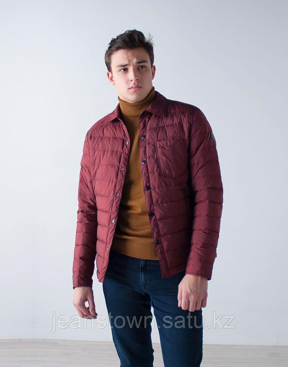 Куртка мужская демисезонная Vivacana бордовая - фото 3
