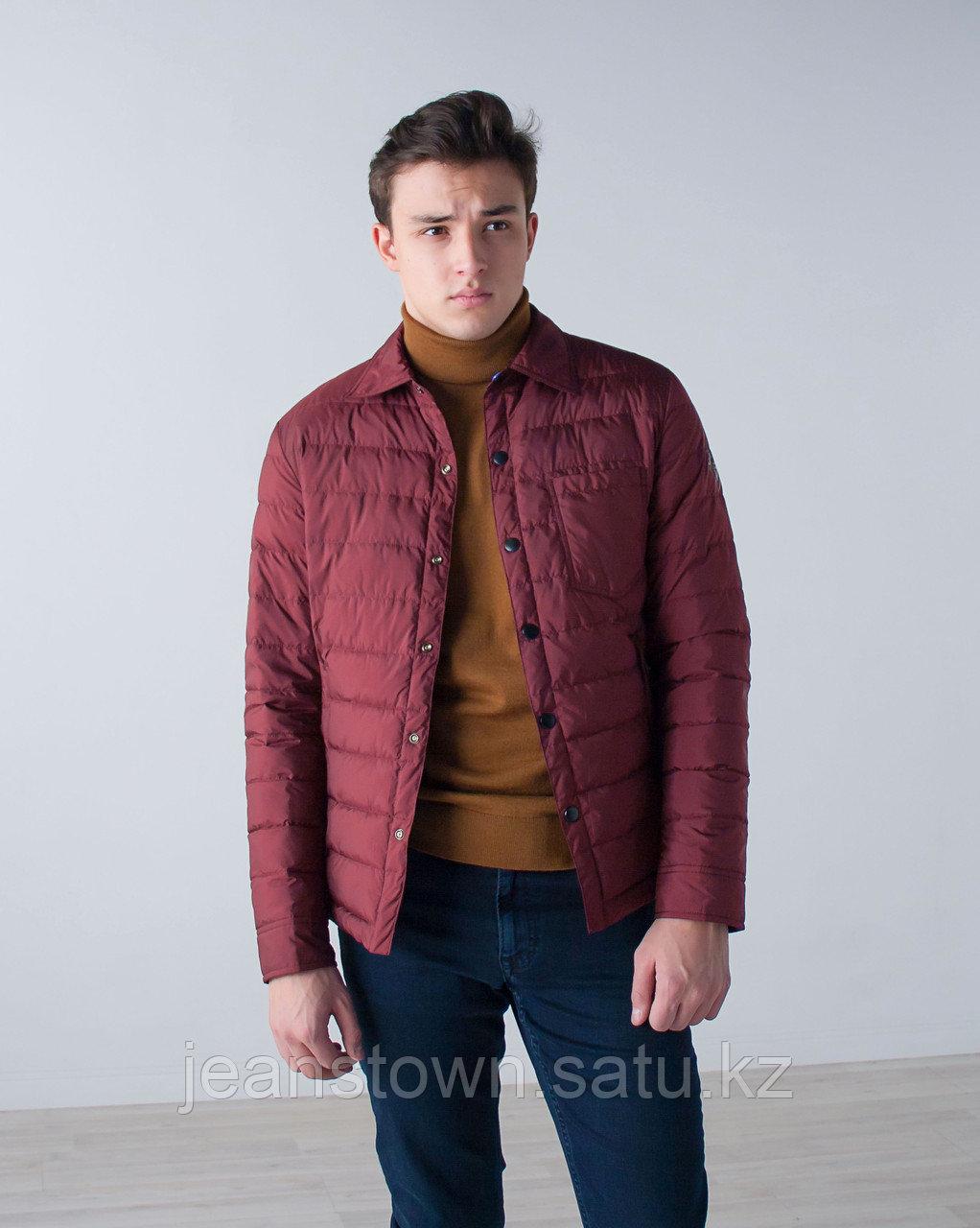 Куртка мужская демисезонная Vivacana бордовая - фото 1