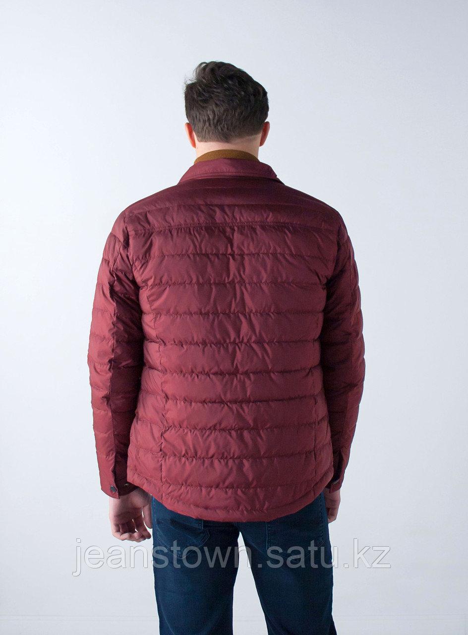 Куртка мужская демисезонная Vivacana бордовая - фото 5