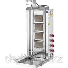 Донер аппарат газовый c приводом на 4 горелки