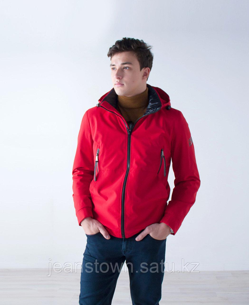 Куртка мужская  демисезонная Vivacana красная