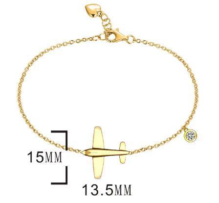 Серебряный  браслет  Brosh Jewellery (Серебро 925) Золочение.