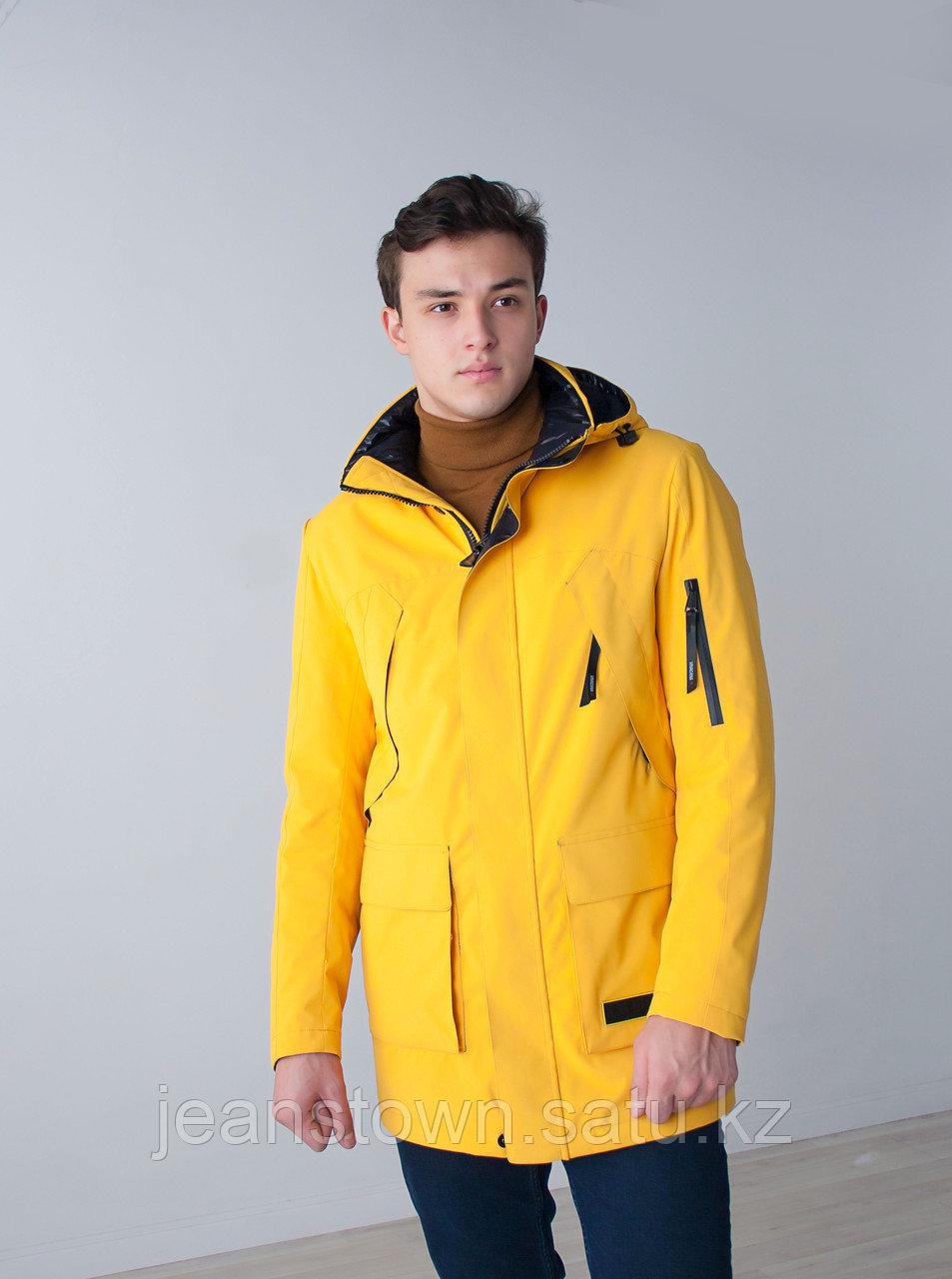 Куртка мужская демисезонная Vivacana желтая - фото 1