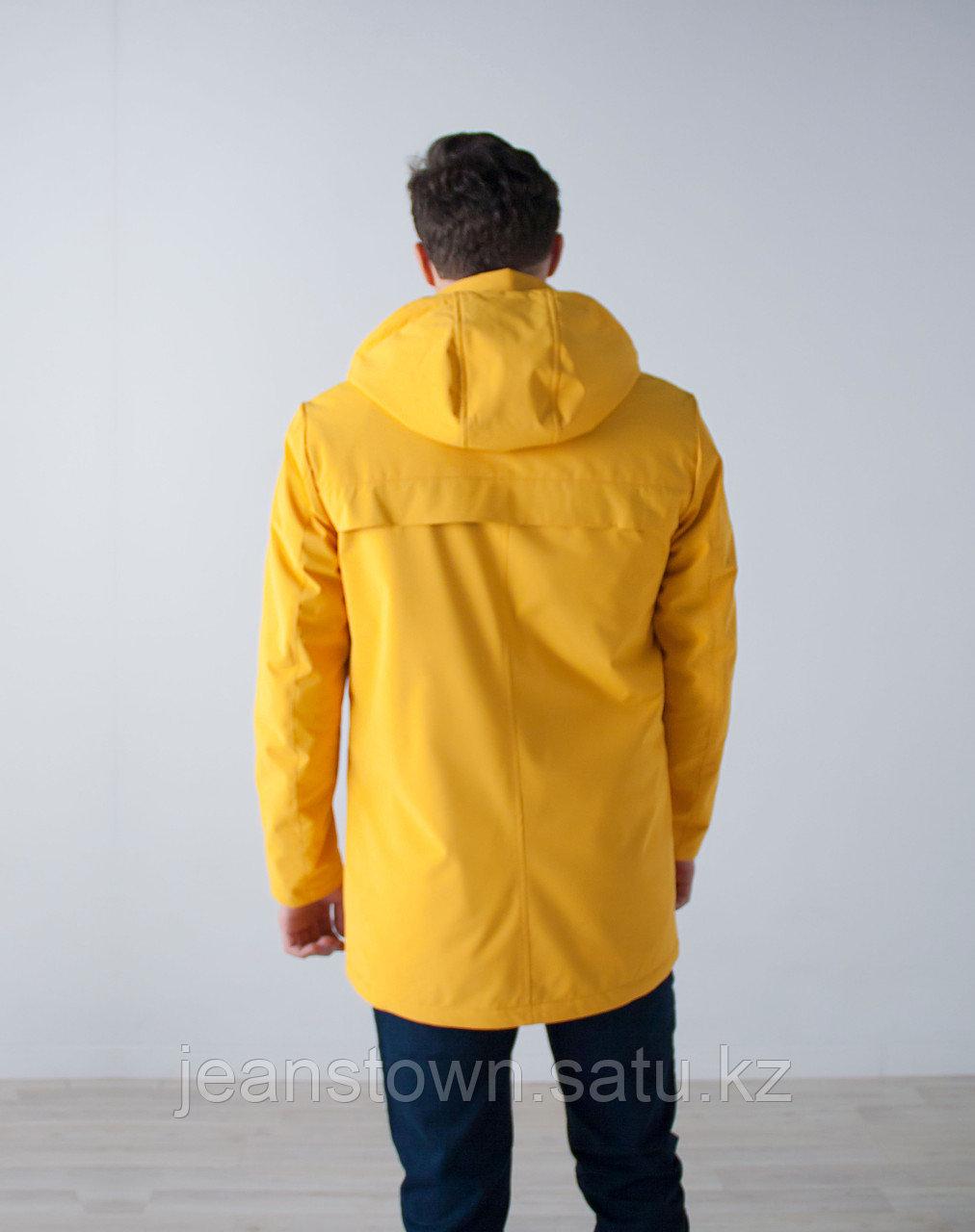 Куртка мужская демисезонная Vivacana желтая - фото 5