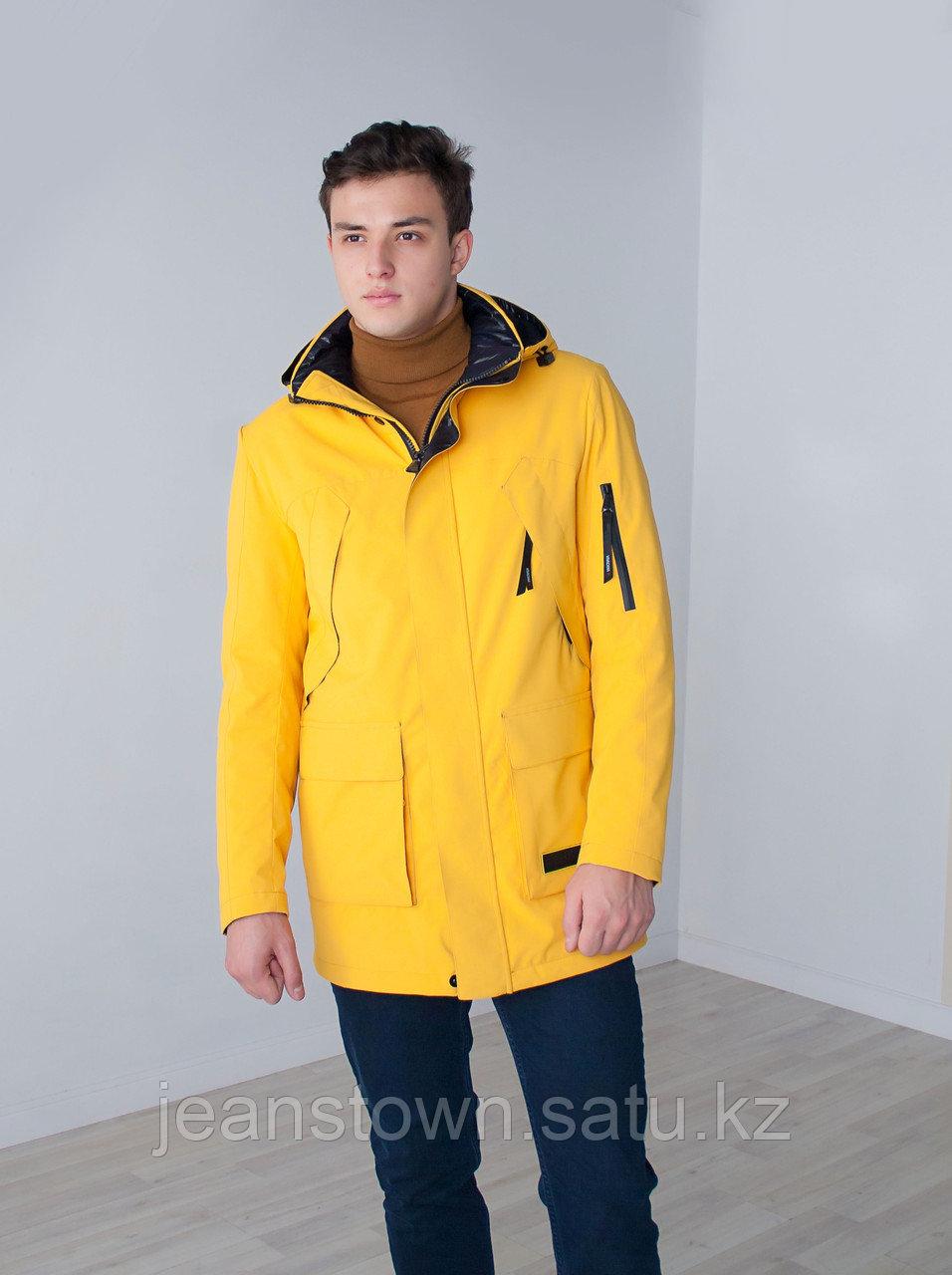 Куртка мужская демисезонная Vivacana желтая - фото 6