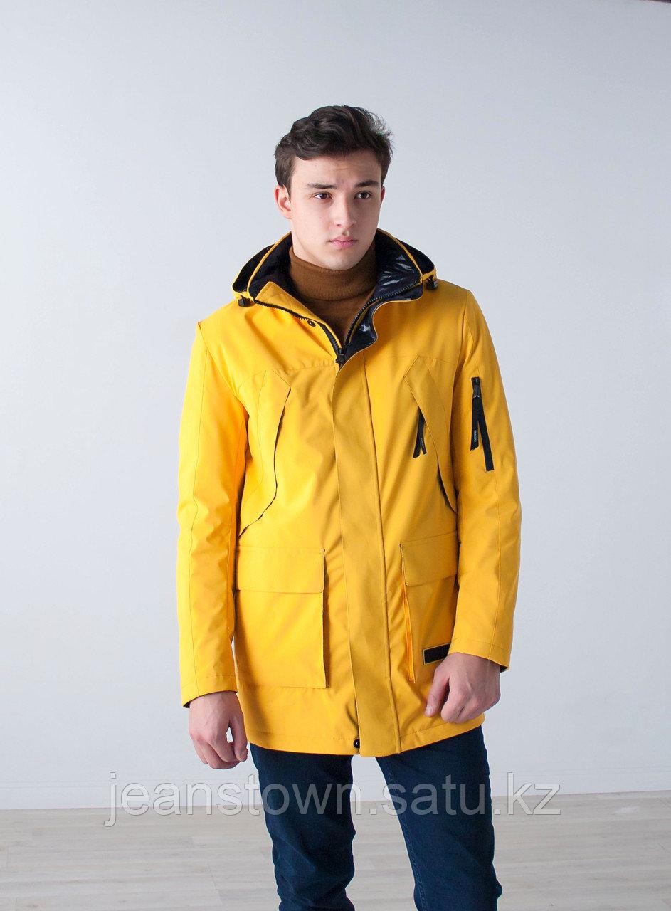 Куртка мужская демисезонная Vivacana желтая - фото 3