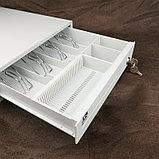 Денежный ящик MERCURY CD-335 cash drawer, ivory (бежевый) Кассовый ящик. Автоматический. Арт.5370, фото 5
