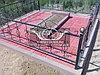 Благоустройство мест захоронений тротуарной плиткой