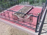 Благоустройство мест захоронений тротуарной плиткой, фото 1