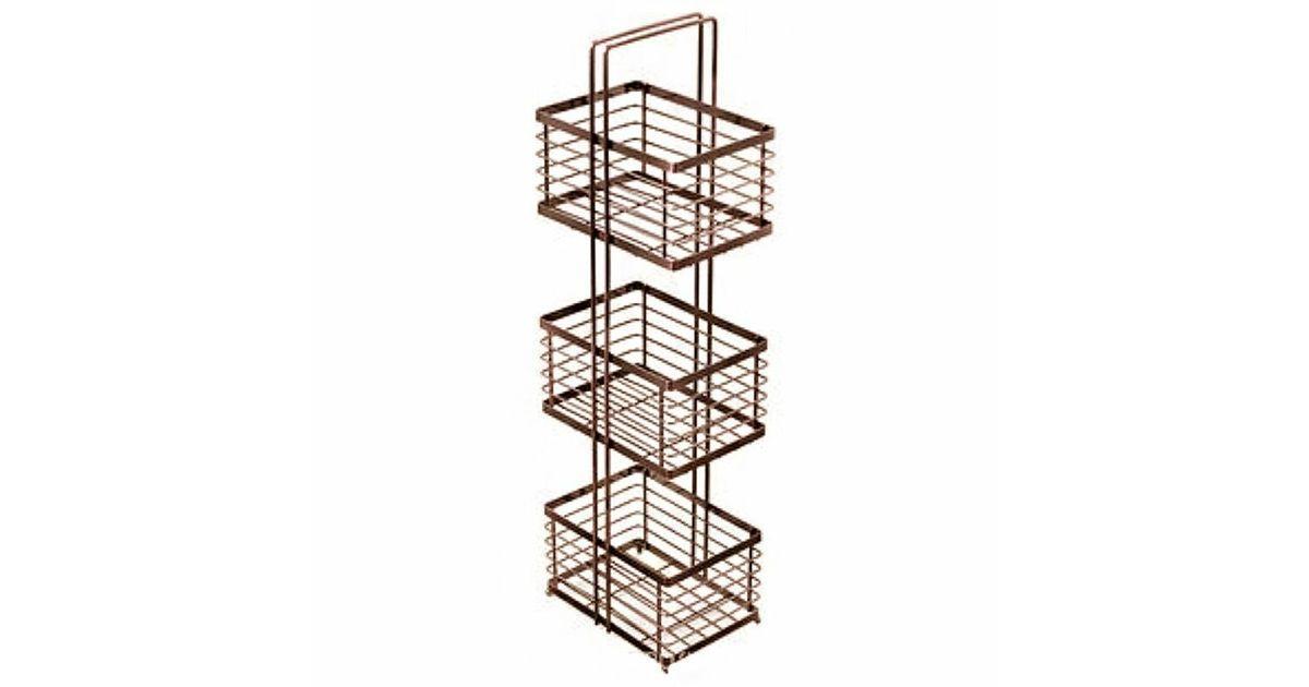 FIXSEN Полка прямоугольная трехэтажная FX-852