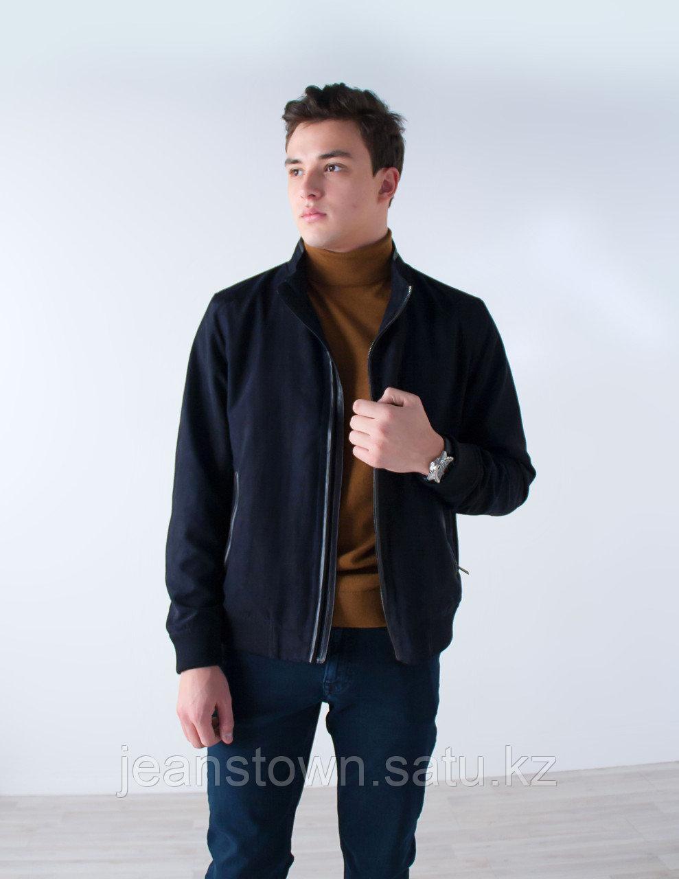 Куртка мужская демисезонная City Class синяя,короткая - фото 3
