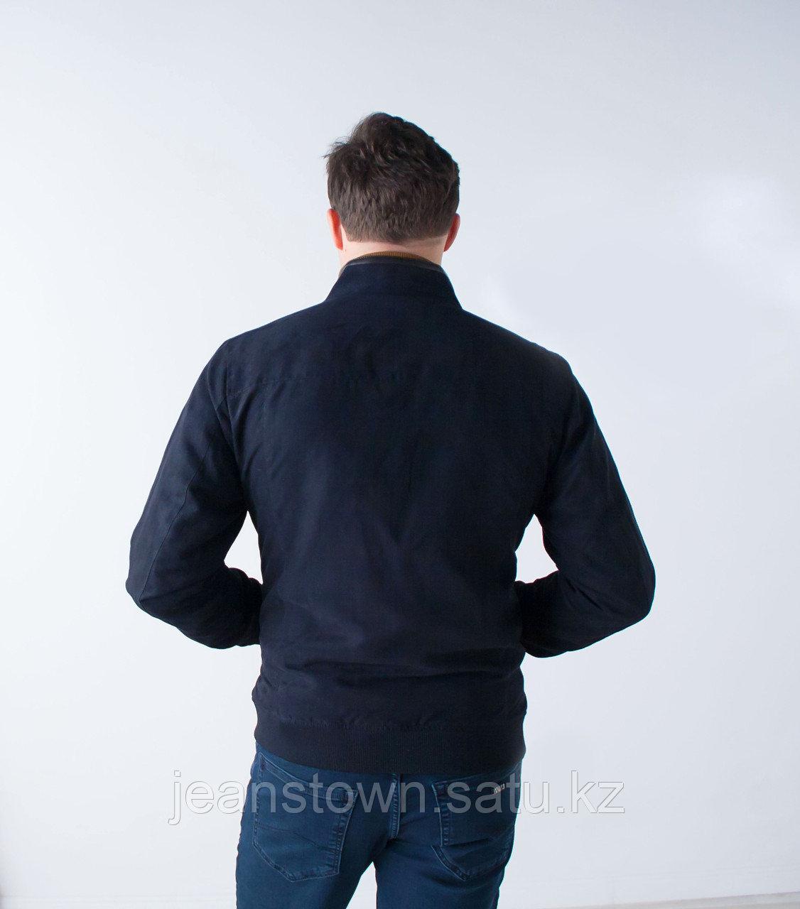 Куртка мужская демисезонная City Class синяя,короткая - фото 4
