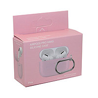 Чехол Hang Silicone Case Pink для Airpods Pro