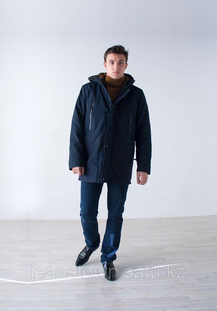Куртка мужская зимняя City Class длинная,на подстежке - фото 2