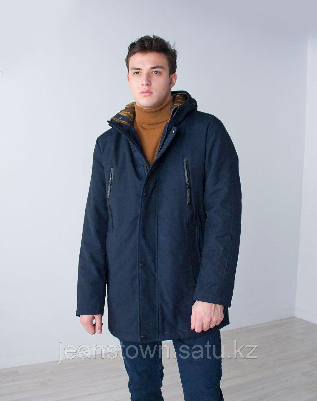 Куртка мужская зимняя City Class длинная,на подстежке - фото 3