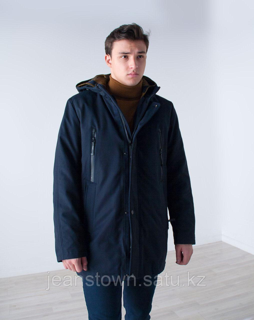 Куртка мужская зимняя City Class длинная,на подстежке - фото 4